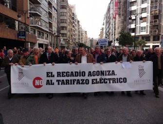 Protesta contra la tarifa eléctrica