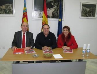 Firma de convenio con el Santander