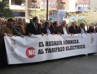 Protesta contra el tarifazo eléctrico