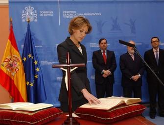 Los regantes valoran la designación de García Tejerina
