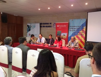 El Sindicato Central de Aguas del Río Mijares acoge la Jornada Técnica sobre el Regadío