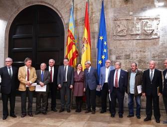 Reunión con el President de la Generalitat, Ximo Puig
