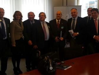 Los regantes defienden la planificación hidrológica en Bruselas