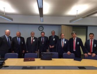 Visita institucional a Bruselas