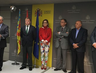 Llíria, Carlet y Carcaixent firman convenio con SEIASA para modernizar regadíos