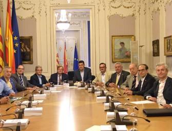 El President de les Corts Valencianes recibe a Fecoreva