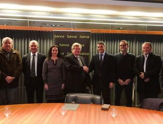Fecoreva firma un convenio de colaboración con Bankia