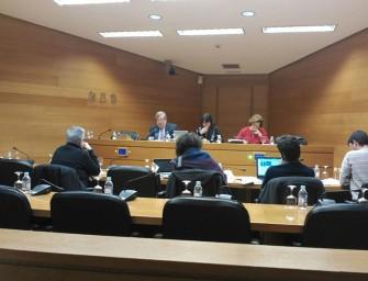"""J.A. Andújar a les Corts: """"España necesita que se hagan autopistas del agua"""""""