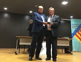 Benjamín Aparicio recibe la Medalla de Fecoreva