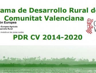Jornada sobre el PDR para comunidades de regantes, el 16 de junio en Valencia