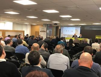 Nueva jornada técnica sobre el regadío en la sede de Bankia